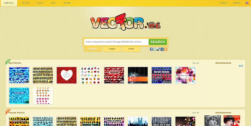 vector resources from vectorme